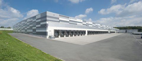 Logistikzentrum bei Hamburg